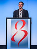 CA Maher, MD speaks during General Session II