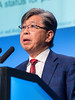 ET Liu, MD speaks during GENERAL SESSION 1