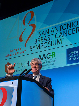 JFR Robertson, MD speaks during GENERAL SESSION 1