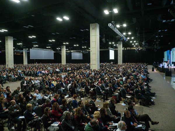 Attendees during GENERAL SESSION 1