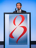 EC Chang, MD speaks during General Session II