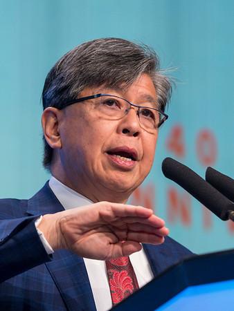ET Liu, MD speaks during GENERAL SESSION 1