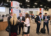 Attendees during Exhibit Hall sessions