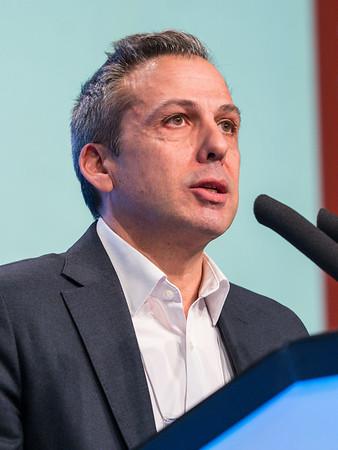 C Sotiriou, MD speaks during GENERAL SESSION 1