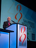 The FDA's Richard Pazdur, MD gives the SABCS 40th Anniversary Award Lecture: Past and Future of Cancer Drug Development during the Opening Plenary Session