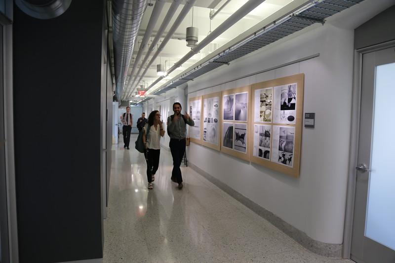 Hayes Hall - Second Floor Hallway