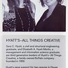 Hyatt's - All Things Creative, Sara C. Hyatt & Elizabeth A. Hyatt-Martin
