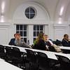 Professor Kellena Kane (right) providing feedback to class