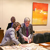 Dawn Aprile, MS Arch/MS RED '17 (left) and Robert G. Wilmers, Chairman of the Board and Chief Executive Officer, M & T Bank