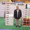 Attendees during One Sport Injury Booth