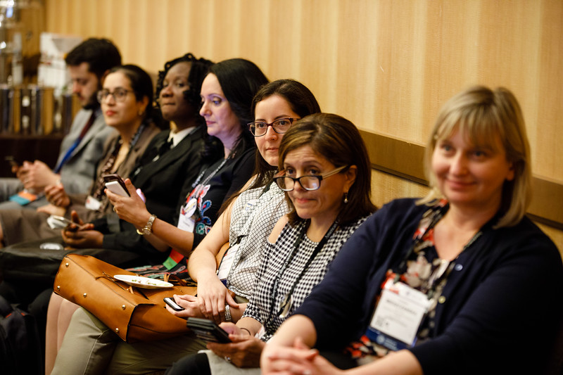 Speakers and attendees during Women in Cardiology  (WIC) Section Meeting