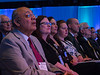 Speakers and attendees during Opening Showcase Session - Dack Lecture- Late Breaking Clinical Trial (LBCT)  1