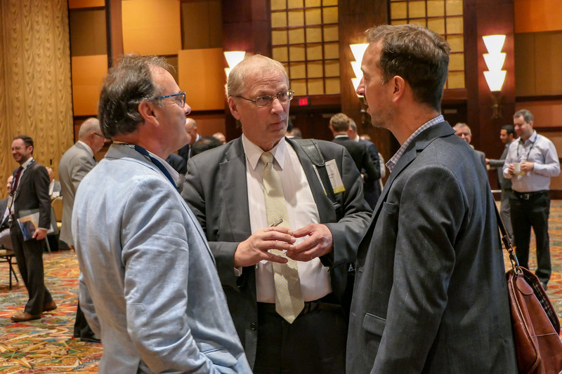 Networking on the Exhibition Hall and in the Lobby