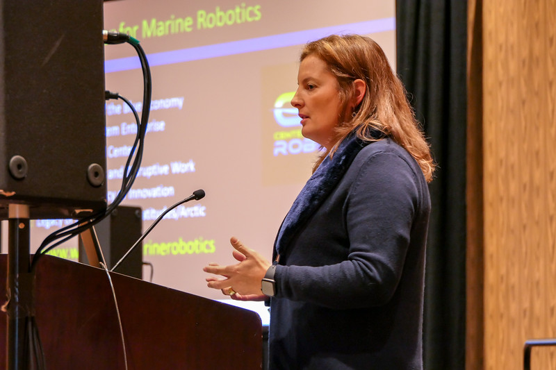 Leslie-Ann McGee Speaks on the Future Directions of R&D: Academia and Industry