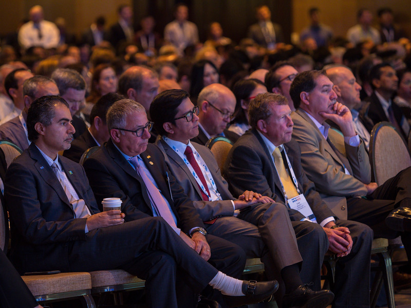 Panelists during Opening General Session