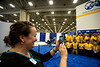 General views during \Exhibit Hall opening\