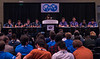 Contestants and crowds during PetroBowl