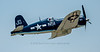 "F4U Corsair ""Godspeed"" dedicated to John Glenn."