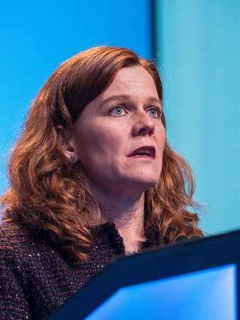 """Ann Partridge, MD, MPH discusses """"Breast Cancer in Young Women: Understanding Differences to Improve Outcomes"""" during 2018 AACR Outstanding Investigator Award in Breast Cancer Research"""