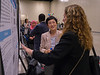 Attendees during Poster Session