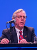 Daniel F. Hayes, MD, FACP, FASCO speaks during Debate: Should All Women with Breast Cancer and Positive Lymph Nodes Receive Chemotherapy?