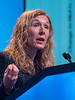 Discussant Jennifer Ligibel, MD speaks during GENERAL SESSION 5