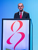Wolfgang Janni, MD, PhD speaks during GENERAL SESSION 5