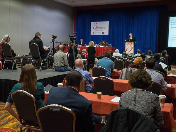 A DeCensi MD speaks during morning press conference
