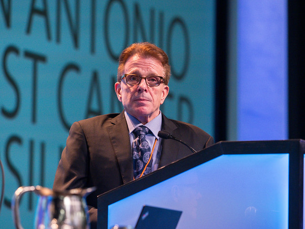 FA Vicini, MD, speaks during GENERAL SESSION 4