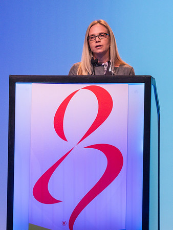 C Curtis, MD, speaks during GENERAL SESSION 3