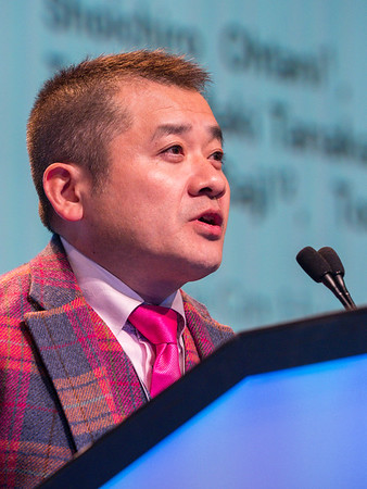 S Ohtani MD, speaks during GENERAL SESSION 3
