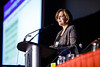 Lori S. Friedman, PhD, speaks during Molecular Biology in Breast Oncology workshop