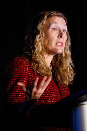Jennifer A. Ligibel, MD, speaks during Clinical Research workshop