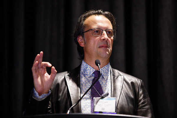 Alex Toker, PhD, speaks during Metabolic Reprogramming in Breast Cancer