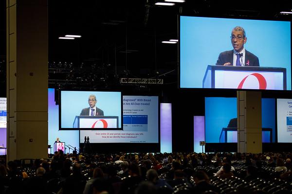 Eric P. Winer, MD, speaks during Susan G. Komen® Brinker Awards For Scientific Distinction Lectures
