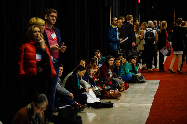 Attendees listen during PLENARY LECTURE 1