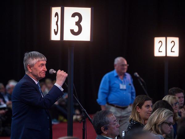 M Martin speaks during GENERAL SESSION 2