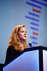 Lindsay Angus, MD, MSc, speaks during General Session 1