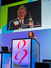 Virginia Kaklamani, MD honors Dr Coltman during opening session