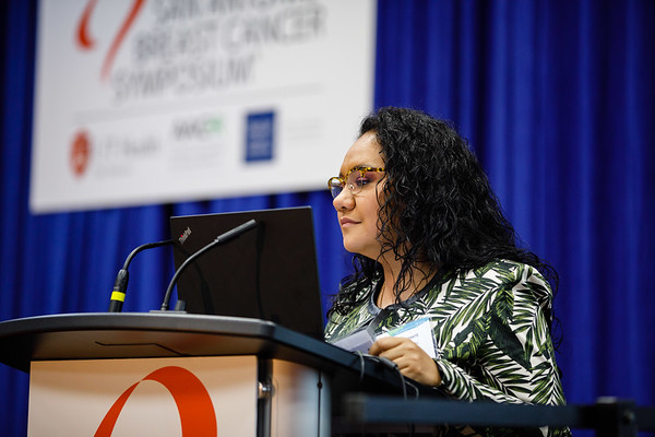 Zaida Morante, MD, speaks during the afternoon press conference