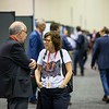 Attendees during General Poster Session/Moderated Poster Discussions