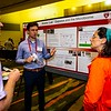 Attendees during Pathway Poster Reception