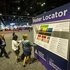Poster Locator in the Poster Hall at the American Diabetes Association's 78th Annual Meeting