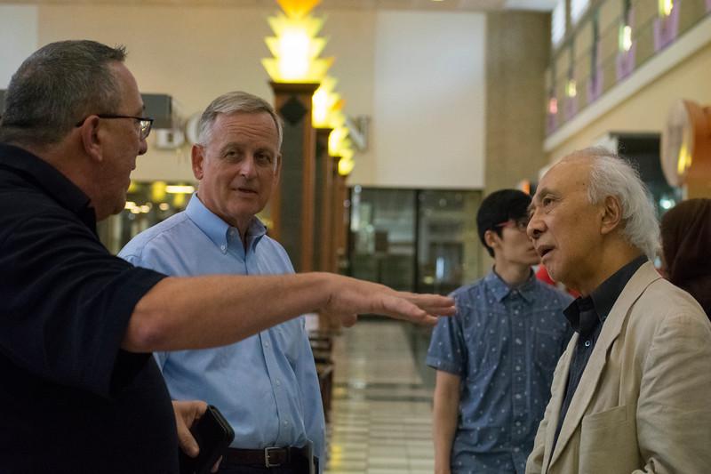 Russ Fulton, Mark Foerster, and Hiro Hata