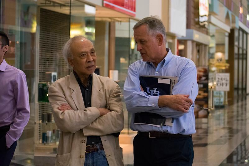 Professors Hiro Hata and Mark Foerster