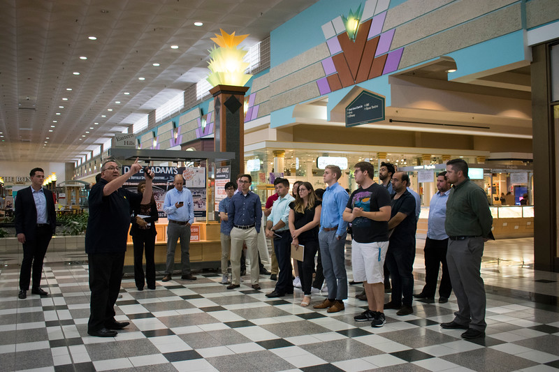 Russ Fulton, General Manager at Eastern Hills Mall highlights unique traits of building