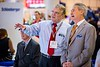 U.S. Congressman John Culberson and Robert Ballard during Exhibition