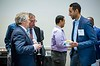 Attendees and speakers during Networking Event: Data, Drilling and Discovery: Five Decades of OTC: How Our Past Has Shaped Our Future