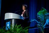Solange da Silva Guedes, Chief Exploration and Production Officer, Petrobras during Opening Ceremony