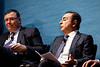 Carlos Ghosn, Chairman and CEO of Renault-Nissan-Mitsubishi, speaks during Chairman?s Panel on Energy Transformation